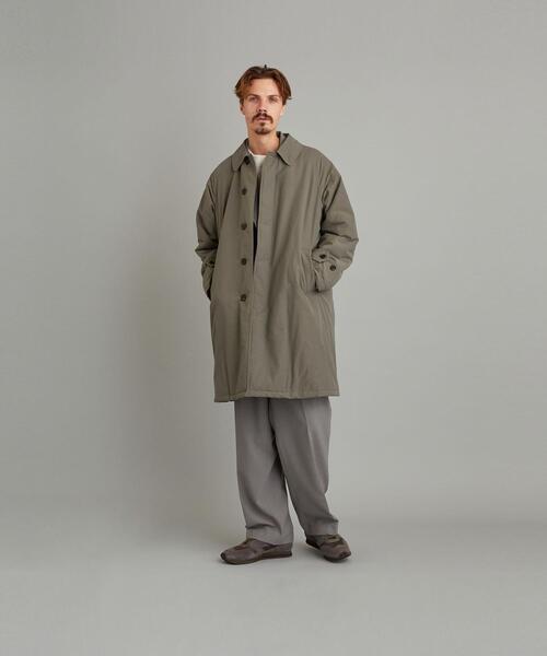 <Steven Alan> NYLON PADDED BAL COLLAR COAT/コート