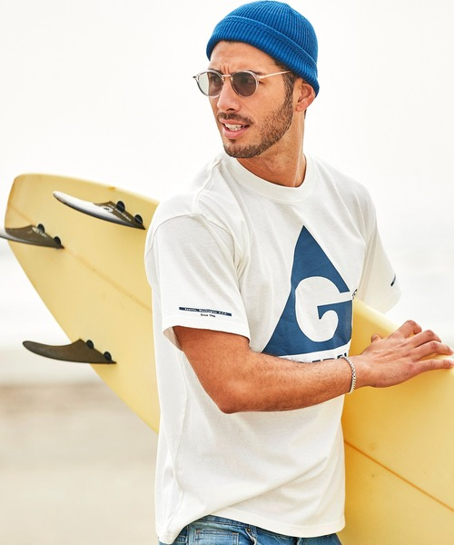 GERRY/ジェリー【BARK MANHATTAN別注】 ロゴプリントオーバーサイズ半袖Tシャツ