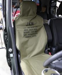 JACK & MARIE(ジャックアンドマリー)のJKM 防水シートカバー フロント2枚セット(インテリアアクセサリー)