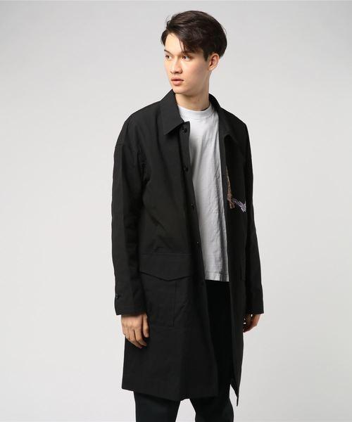 Cotton weather work coat