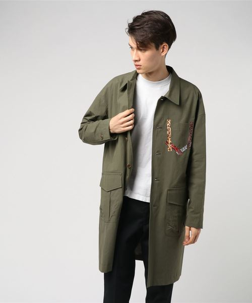 Cotton weather work coat