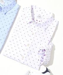 ドライファブリックスクエアドビーボタンダウンシャツ
