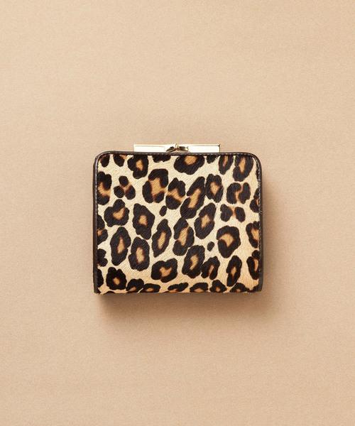 【送料無料/新品】 【セール】レオパードヘアカウがま口2つ折り財布(財布)|TOPKAPI(トプカピ)のファッション通販, オトワチョウ:1195af4e --- svarogday.com