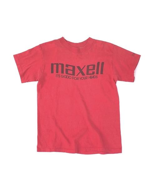 Maxell' T-shirt(Tシャツ/カッ...