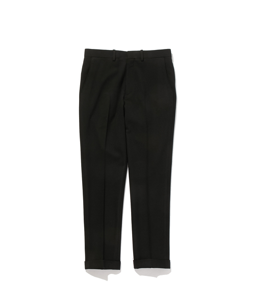 FALL2019 SLIM CENTER CREASED SLACKS