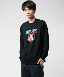 EVIL STAR リブ付ロングスリーブTシャツブラック