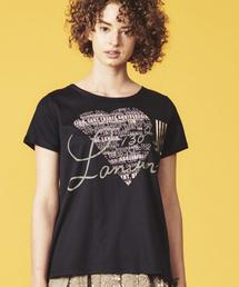 LANVIN en Bleu(ランバンオンブルー)の130周年プリントTEE(Tシャツ/カットソー)