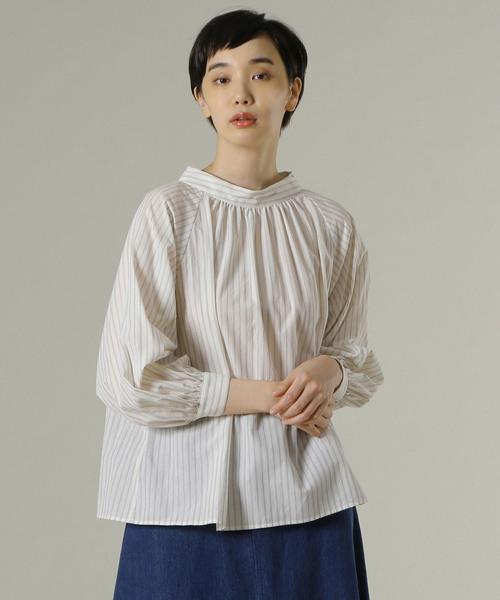 【GINGER掲載商品】 スタンドカラーブラウス(シャツ/ブラウス) ADIEU ADIEU TRISTESSE(アデュートリステス)のファッション通販, 古着屋 hooperdoo:db36700f --- wm2018-infos.de