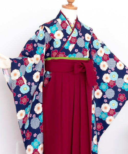 袴セット 着付け 簡単 簡易 和装セット(着物、袴)