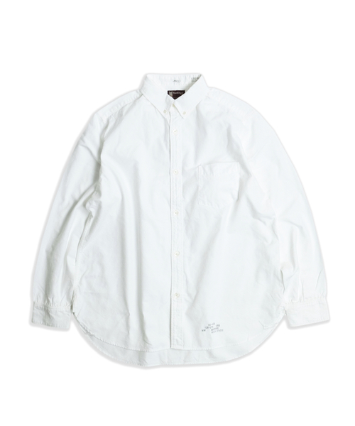 TOWNCRAFT(タウンクラフト)の「TOWN CRAFT/タウンクラフト OXFORD BD SHIRTS(シャツ/ブラウス)」|ホワイト