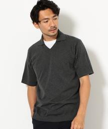 CM スキッパー ポロシャツ ◆