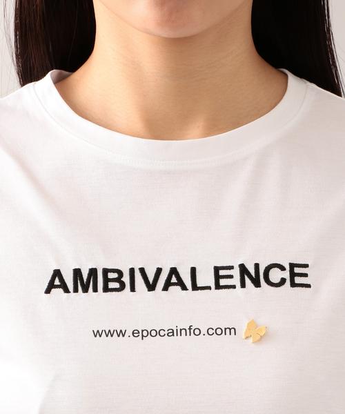 【AMBIVALENCE】ロゴTシャツ