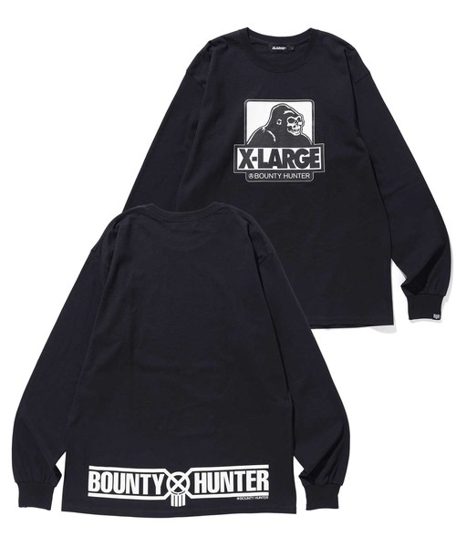 【XLARGE×BOUNTY HUNTER】L/S TEE BH x XL