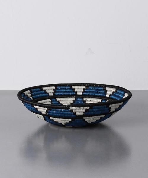 <ALL ACROSS AFRICA(オール アクロス アフリカ)> ボウル L BLUE