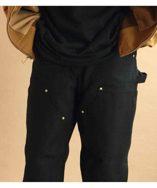 【carhartt/カーハート】M Firm Duck Double-Front Work Dungaree B01  MADE IN U.S.A