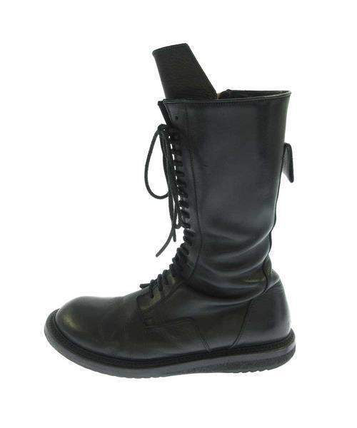 人気デザイナー 【ブランド古着】サイドジップ ホールレザーブーツ(ブーツ)|Rick Rick Owens(リックオウエンス)のファッション通販 - USED, ミナミカンバラグン:faaa25b2 --- pyme.pe