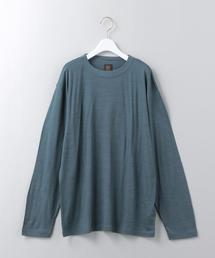 <BATONER>WASHABLE LONG SLEEVE PULLOVER/カットソー Ψ
