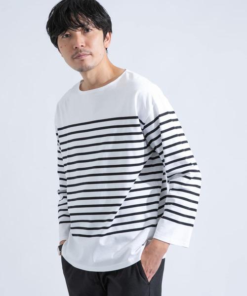 フレンチボーダーバスクTシャツ