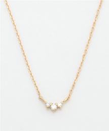 ete(エテ)のK18YGブライト ダイヤモンド ネックレス(ネックレス)