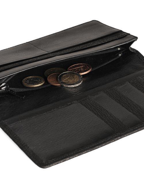 シャークレザー長財布