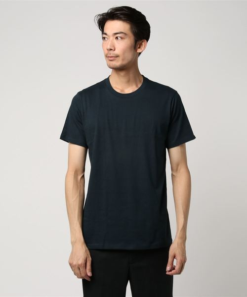 WEB限定 FRUIT OF THE LOOM/フルーツ オブ ザ ルーム クルーネック コットン半袖Tシャツ 2枚組