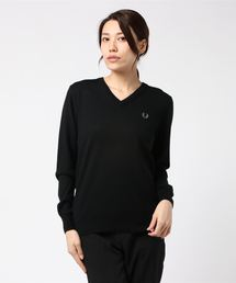 FRED PERRY(フレッドペリー)のTipped V Neck Sweater(ニット/セーター)
