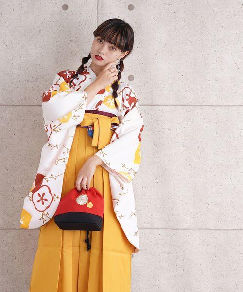 最安値 袴セット ビタミンカラーのはんなり梅(着物/浴衣)|utatane(ウタタネ)のファッション通販, ミニマル:c8cb4b08 --- fahrservice-fischer.de