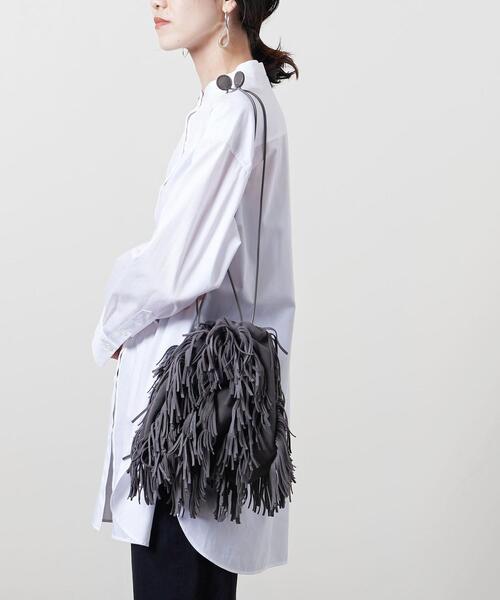 【別注】<MARY AL TERNA (メアリ オル ターナ)>SWAY フリンジ バッグ