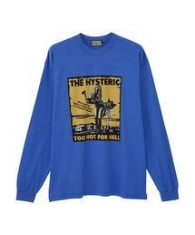 HYS MOTEL Tシャツブルー
