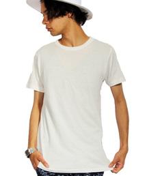 8(eight)(エイト)のクルー 無地 半袖 Tシャツ(Tシャツ/カットソー)