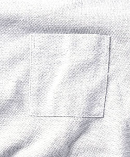 SHIPS JET BLUE: 9FUNCTION【接触冷感・抗菌防臭etc..】カノコポケットTシャツ