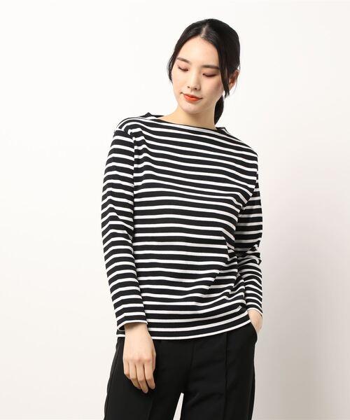 【 SAINT JAMES / セントジェームス】GUILD UA  バスクシャツ Tシャツ 2503