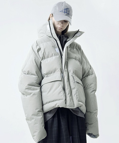 【Harsh and Cruel】【2021AW】Big Over Down Jacket HC21S51