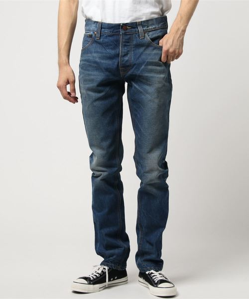 Nudie Jeans(ヌーディージーンズ)の「Dude Dan / Ben Replica Rigid(デニムパンツ)」|インディゴブルー