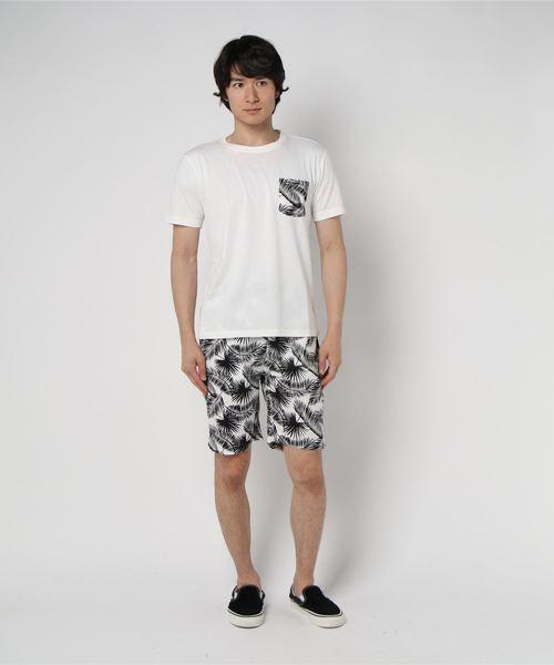 【WEB限定】【セレクト】ボタニカルTシャツ  セットアップ