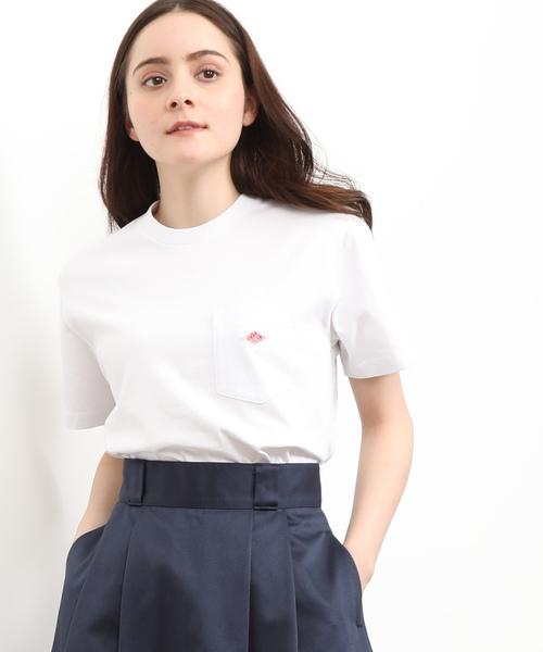 【DANTON】クルーネックTシャツ