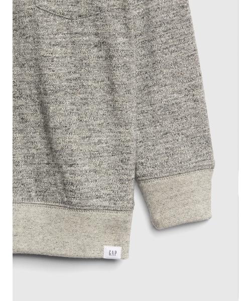 ポケット クルーネックスウェットシャツ(フリース)