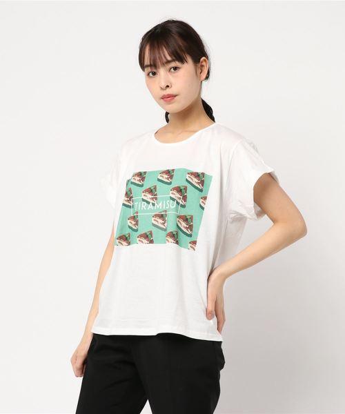 スウィーツTシャツ