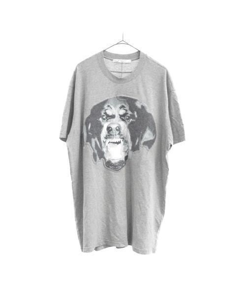 (訳ありセール 格安) ロットワイラープリント半袖Tシャツ, zakka来福JUNE 158d1274