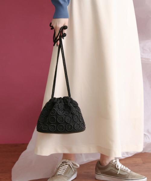 パールミニ巾着BAG