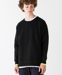rehacer(レアセル)のrehacer : Knit Relief Sweat CS Made in Japan / ニット レリーフ スウェット カットソー メイドインジャパン(Tシャツ/カットソー)