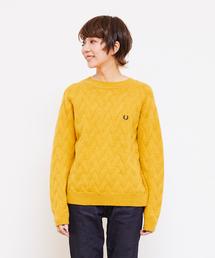 FRED PERRY(フレッドペリー)のSplit Back Sweater(ニット/セーター)