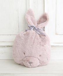 Cocoonist(コクーニスト)の【WEB限定】ウサギ巾着4WAYブランケット(ブランケット)