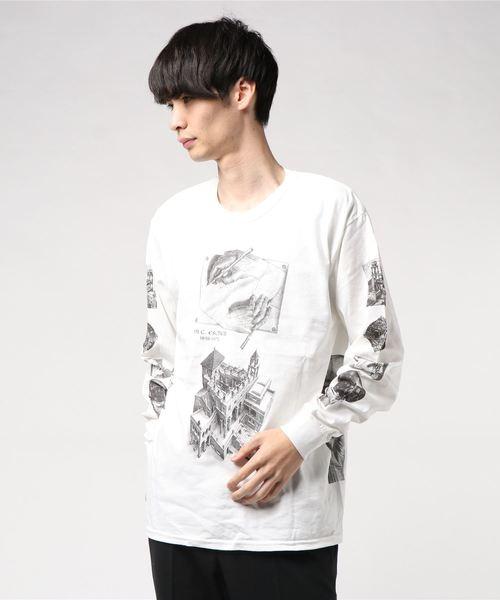 【M.C. ESCHER】(UN)ロングスリーブTシャツ