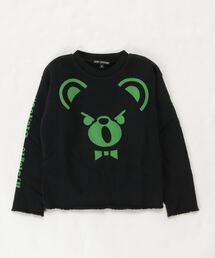 BEAR スウェット【S/M】ブラック
