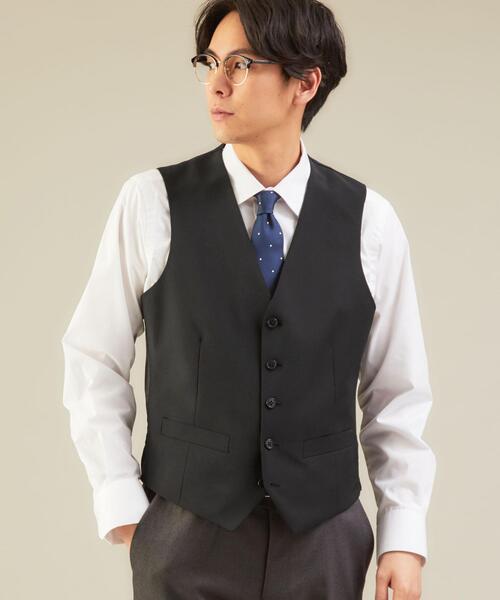 < 機能 / 洗濯機洗い可 > WTO TW/PU トロピカル 5B スーツ ベスト