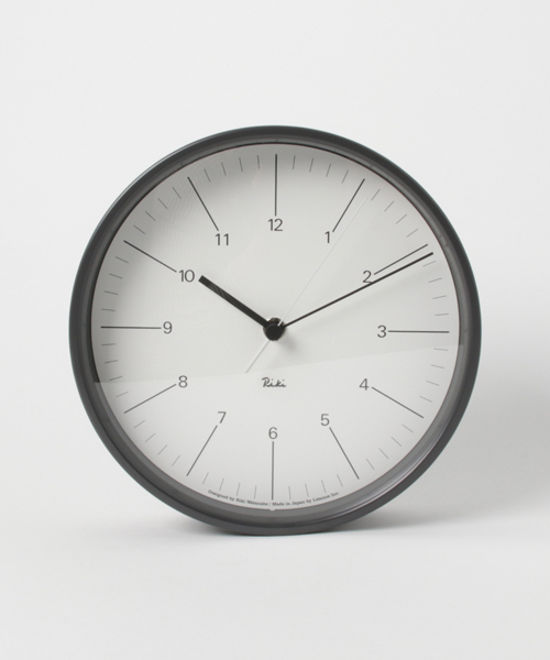 collex(コレックス)の「LEM RIKI STEEL CLOCK(掛け時計)」|グレー