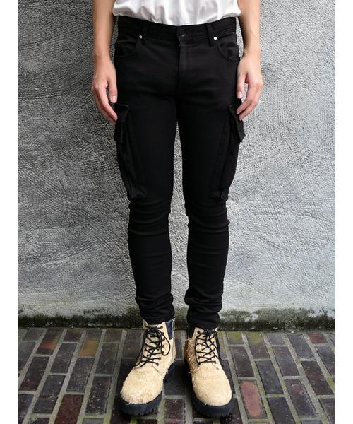 【後払い手数料無料】 Skinny cargo pants, ウレシノマチ 2e75eff4