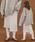 select MOCA(セレクトモカ)の「2WAYアシンメトリーニットスカート(畦編み×リブ編み切り替えデザインミディアム丈タイトスカート)(スカート)」|アイボリー