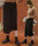 select MOCA(セレクトモカ)の「2WAYアシンメトリーニットスカート(畦編み×リブ編み切り替えデザインミディアム丈タイトスカート)(スカート)」|ブラック